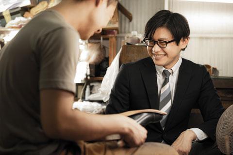 企画職(紳士靴)・研究開発職2006年入社細小路